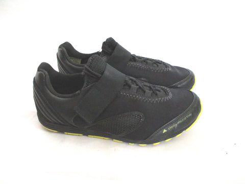ADIDAS STELLA MCCARTNEY Lightweight Sneaker RUNNING SHOE 6 BLACK