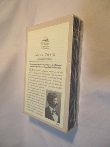 NEW MARK TWAIN MISSISSIPPI WRITINGS Book LIBRARY OF AMERICA HC Slipcase SEALED!