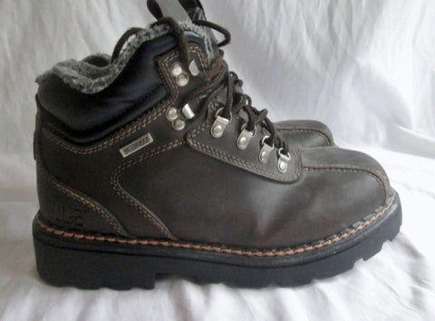 Mens RUGGED OUTBACK Waterproof  Boot Shoe Trail Hiking BROWN 13 THERMOLITE