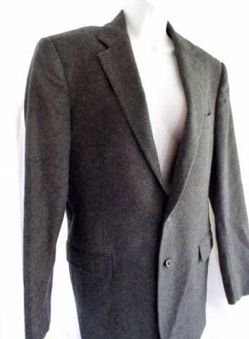 RALPH LAUREN POLO BRADFORD Wool jacket Sports coat Blazer 40R GRAY Mens
