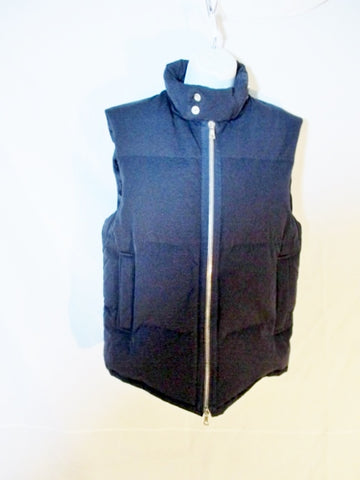 NEW DRIES VAN NOTEN DOWN Sleeveless Jacket Vest M BLUE NAVY Womens Outerwear