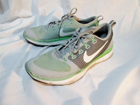 Mens NIKE FREE TRAIN VERSATILITY Sports Shoe Running Sneaker GREEN 14 GRAY Trainer Lowrise