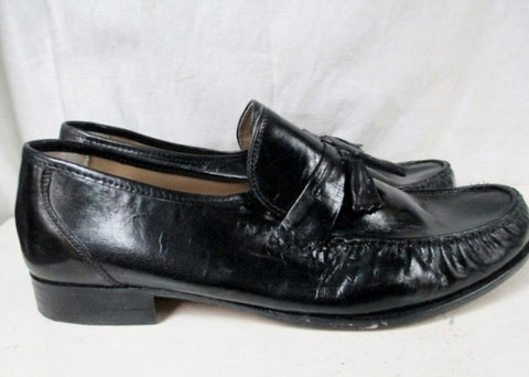 NEW Mens NUNN BUSH TASSEL PATENT Leather Dress Shoes BLACK 12