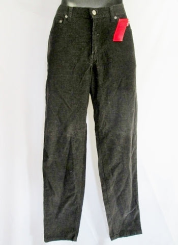 NEW NWT Womens LEVI'S 550 RELAXED FIT TAPERED Leg Corduroy PANTS 6 Long BROWN Trousers