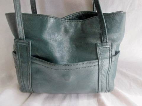 LEBANON Genuine Leather Shoulder BAG Hobo Crossbody slouch HUNTER GREEN S