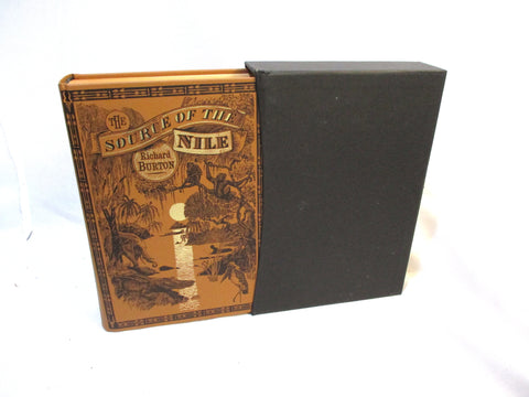 FOLIO SOCIETY SOURCE NILE BURTON Hardcover Book Slipcase