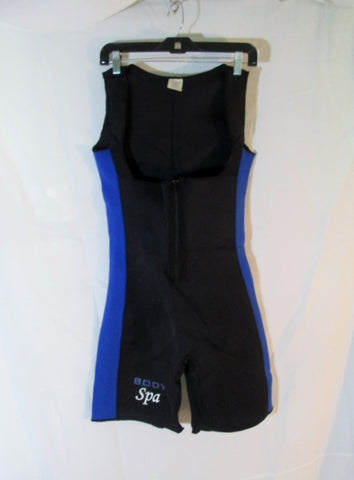BIOLIFE BODY SPA Cycling Fitness Racing Athletic Skinsuit Jumpsuit BLUE BLACK L