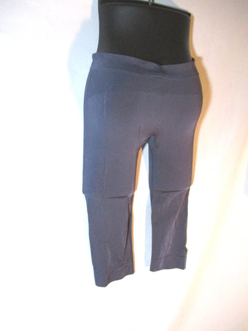 NEW ADIDAS STELLA MCCARTNEY YOGA 3/4 RUN TIGHTS Legging M GRAY Pewter Pant