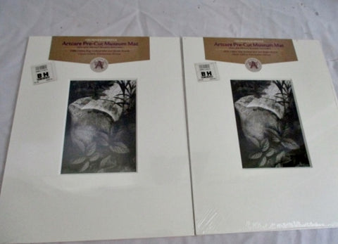 NEW Set NIELSEN & BAINBRIDGE ARTCARE PRE-CUT MUSEUM MAT Mount Board Art Gallery