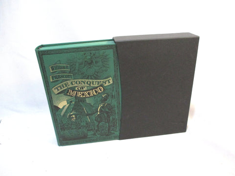 FOLIO SOCIETY CONQUEST MEXICO Prescott Hardcover Book Slipcase