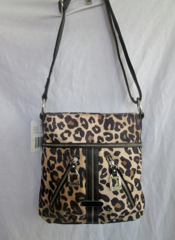 NEW NWT TYLER RODAN BARNUM NATURAL CHEETAH Vegan BAG Handbag Purse LEOPARD