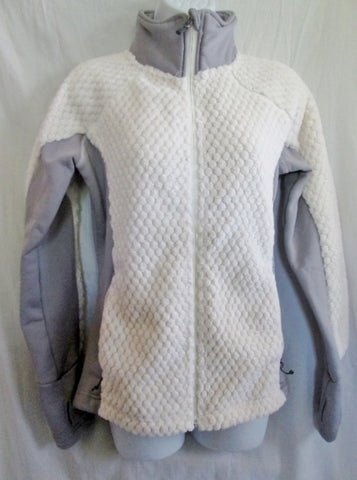 WOMENS AVALANCHE THERMALATION Layer Zip Ski Plush Jacket Coat WHITE M Snowboard