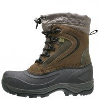 Mens RUGGED OUTBACK 78420 APEX Leather Waterproof Boot Shoe BROWN 8