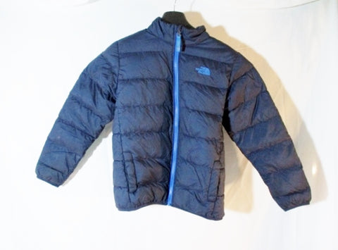 Youth Boys Kids THE NORTH FACE Down Jacket Coat Puffer Ski L BLUE Parka Winter