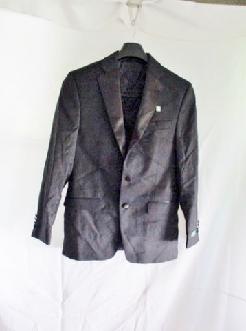 NEW RALPH LAUREN Tuxedo Blazer Jacket Suit 38R BLACK Formal Sport Coat Wedding NWT Mens