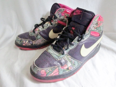 sports shoes 866be 4da88 ... Womens Nike DUNK GRAND HIGH 358858-511 Hi-Top Basketball Sneaker 9  PURPLE PINK ...