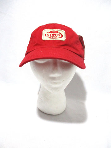 NEW NWT US OPEN 2013 TENNIS Baseball Cap Hat RED American Needle