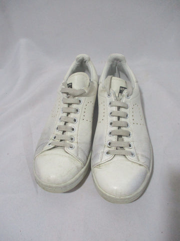 ADIDAS STAN SMITH RAF SIMONS Sneaker Athletic WHITE 5.5 Leather Trainer
