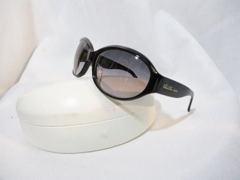 NEW CELINE PARIS ITALY SUNGLASSES 1759 BLACK w Case Womens