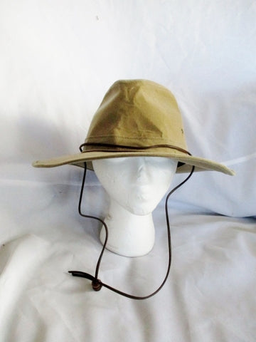 Henschel Hat Co Western Cowboy Double H H1H Hat USA Brim Rider L BROWN TAN