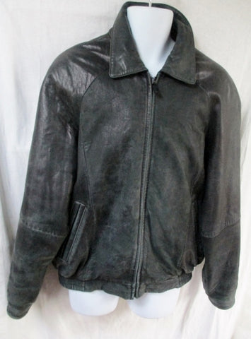 MENS WILSONS LEATHER PELLE STUDIO flight Moto Riding jacket coat BLACK L