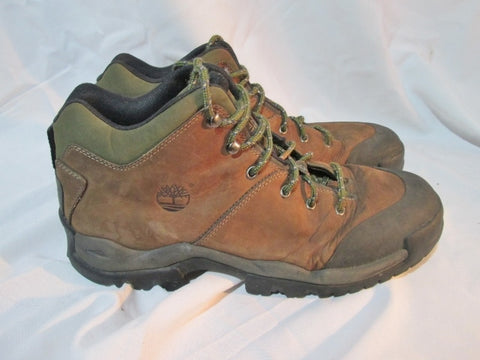 Mens TIMBERLAND ACT 62098 Leather Chukka Boot Shoe Trail Hiking BROWN 13 Bootie