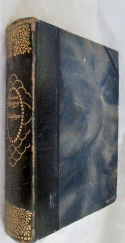 Antique 1912 VAEKER I MINDEUDGAVE Bang DANISH Leather Book HC RARE