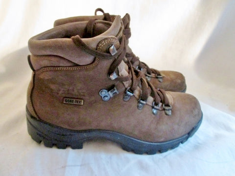 Mens EMS Suede Leather Trek Boot Shoe Trail Hiking Field Work BROWN 6.5 Outdoor