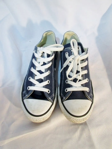 CONVERSE ALL STAR LOWRISE Sneaker Trainer BLUE 3 CHUCKS Athletic Sports Shoe Kids