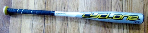 "27"" EASTON CYCLONE LK38 Official Youth Baseball Bat METAL 2 1/4"" Little League"