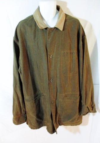 MENS THE TERRITORY AHEAD Cotton Field Barn jacket coat BROWN XXL Campus