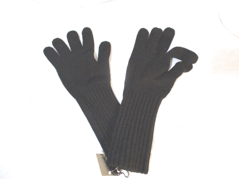 NEW NWT J. CREW CASHMERE Winter Driving Gloves BLACK OS