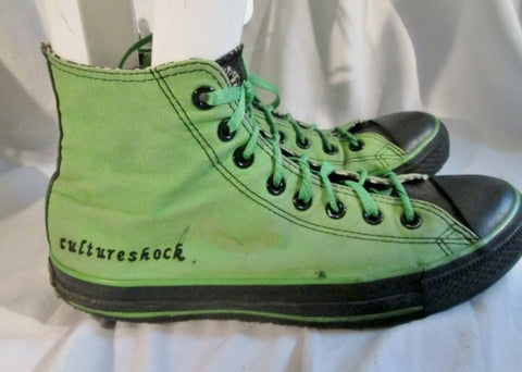 CONVERSE ALL STAR CULTURESHOCK Chucks Hi-Top Sneaker Shoe GREEN M9 W11 Athletic Trainer