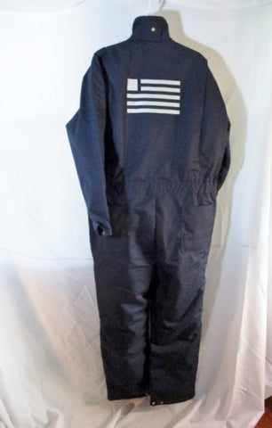 NEW US AIRWAYS FLIGHT SUIT COVERALLS AIRPLANE Travel BLUE L WEARGUARD
