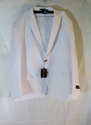 NEW VITTORIO ST. ANGELO JACKET Sport Coat 50R BLAZER WHITE Single Breasted