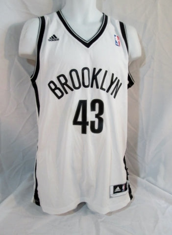 Mens NBA BROOKLYN #43 KRIS HUMPHRIES NETS BASKETBALL Jersey S WHITE Sports Tank