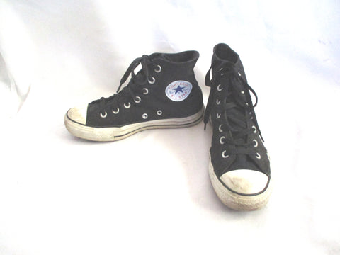 CONVERSE ALL STAR Hi-Top Sneaker Trainer Athletic Shoe SKULL BLACK 6.5 Womens