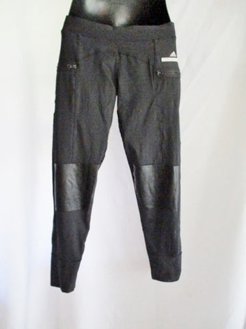 NEW NWT ADIDAS STELLA MCCARTNEY RUN TIGHTS Pant Legging M BLACK CLIMALITE
