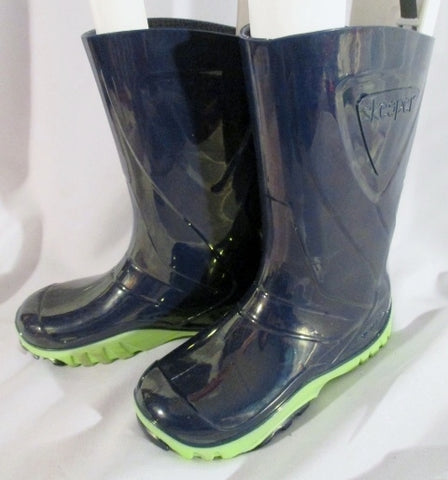 Toddler SKEEPERS Wellies Rain Boots Rainboots BLUE 31 13 Puddle Jumpers