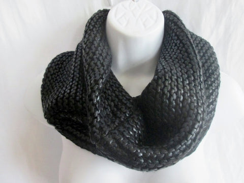 NEW NWT PHILOSOPHY REPUBLIC CLOTHING Neck WRAP LOOP ETERNITY Scarf BLACK