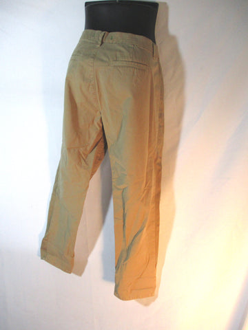 J Brand AVERY Jean Dungaree Pants Trousers Chinos 29 KHAKI Womens