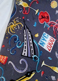 "NEW Mens NICOLE MILLER ""NYC 2000"" SILK TIE 2000 NEW YORK CITY Giuliani Limited Ed"