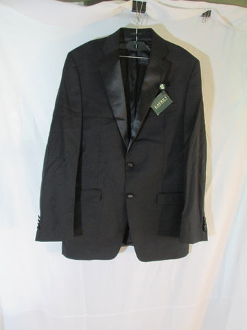 NEW RALPH LAUREN Tuxedo Blazer Jacket Suit 41L BLACK Formal Wedding NWT Mens