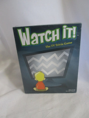 NIB NEW WATCH IT TV TRIVIA Game Entertainment Winter Family Fun - SEALED!