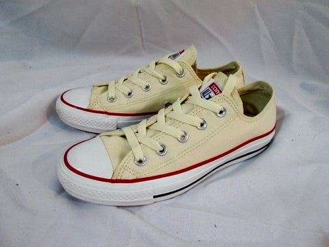 CONVERSE ALL STAR Chucks Hi-Top Sneaker CREME WHITE W 6  M 4 Lowrise