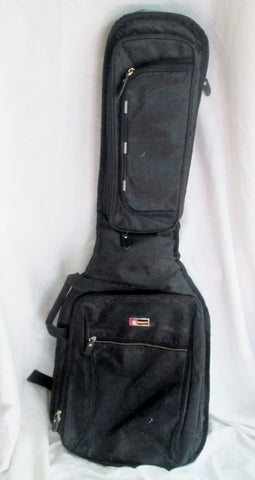 "CROSSROCK Kingstar 40"" Guitar Musical Instrument GIG BAG Case BACKPACK BLACK"