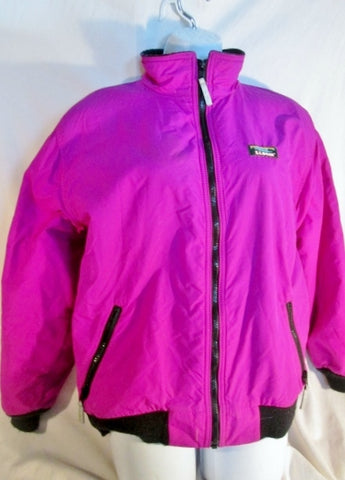 Kids L.L. BEAN Ski WARM UP JACKET Coat Winter Snow Parka Fleece Lined BERRY PINK XL