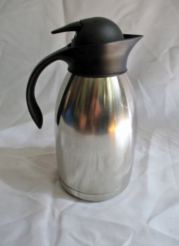 Thermos B3Basics Thermal Stainless Steel Coffee Dispenser PITCHER Insulated Serving