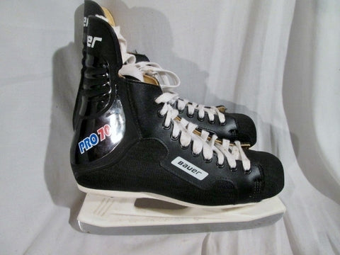 Mens BAUER Canada PRO 70 Ice Hockey Skates BLACK 9 DD / E Winter Sport