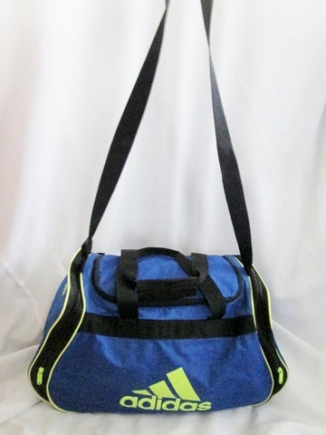 ADIDAS DUFFLE Sports Gym BAG Overnighter Carry-on Workout BLUE Travel Fitness